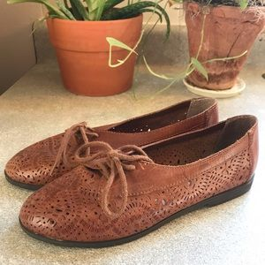 Vintage Leather Craft Women's Size 6.5 Flats